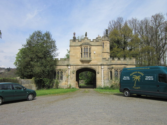 Beaufront Castle Gatehouse