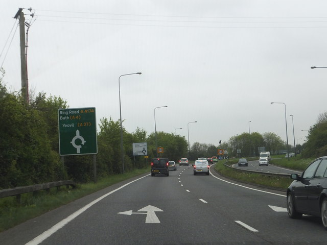 Ringroad near Cadbury Heath