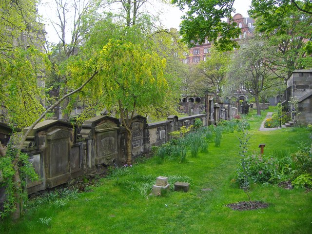 St. John's Church cemetery, Princes Street, Edinburgh