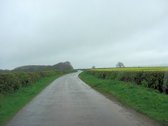 Un-named lane west of Stowe Lodge