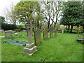 SJ5277 : St Laurence Parish Church of Frodsham, Graveyard by Alexander P Kapp