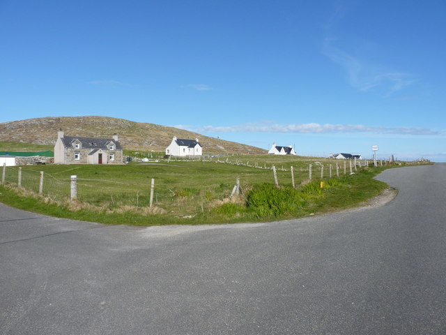 Croft houses in Borgh