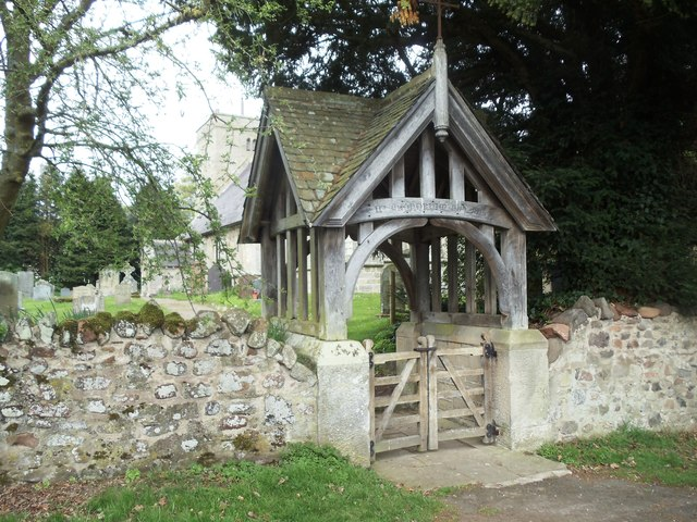 Lych Gate, Church of St Michael, Ingram