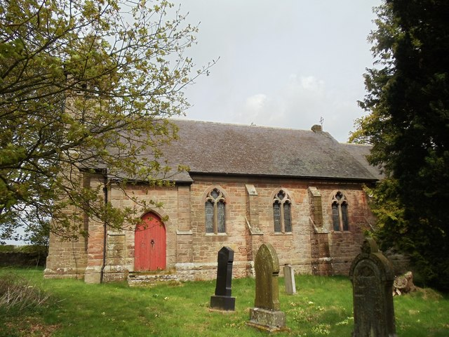 Former Church of All Saints, Duddo