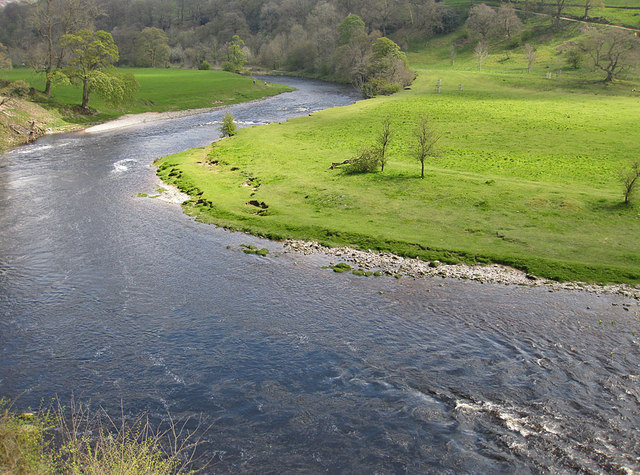 Meandering River Wharfe