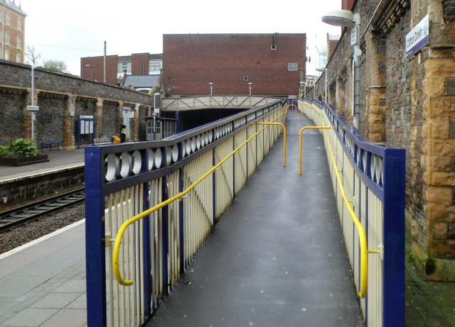 Ramp, Clifton Down railway station, Bristol