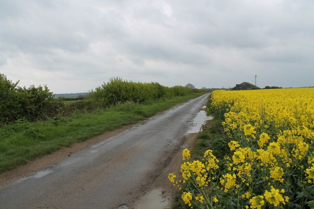Road to Greetwell Hall Farm