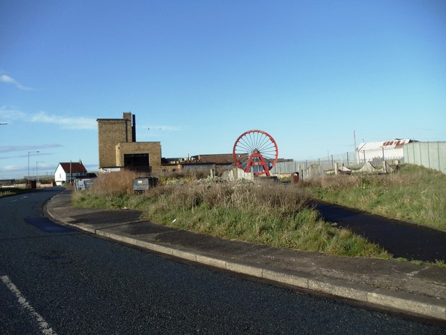 Site of the former Cambois Colliery