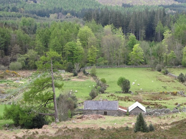 Former shepherd's cottage on the edge of the Mournes