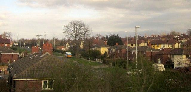 A6110, Beeston
