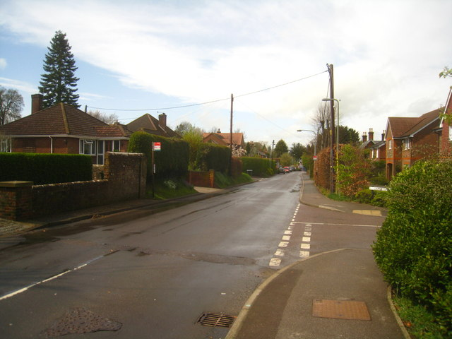 View along Hill Road