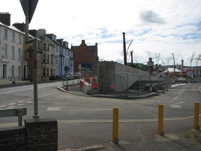 Concrete structure, Portrush (2)