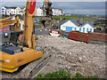 C8540 : Demolition site, Portrush : Week 19