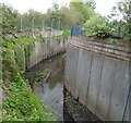 SO9990 : River Tame, West Bromwich by John Grayson