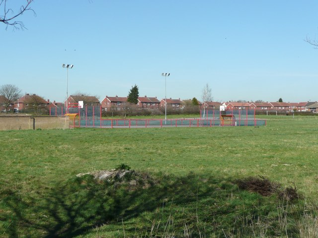 Play area on the site of R M Grylls Middle School, Windy Bank, Liversedge