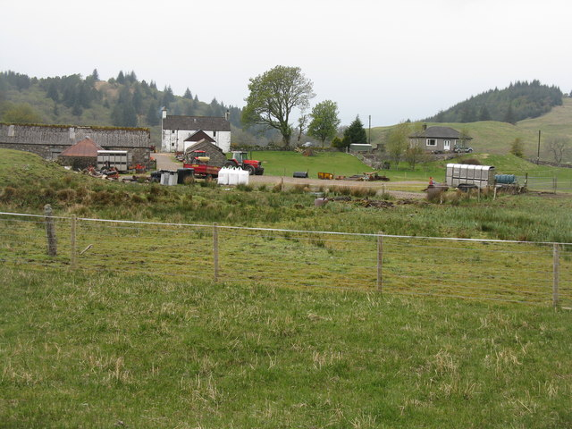Glenmachrie farm in Glen Lonan