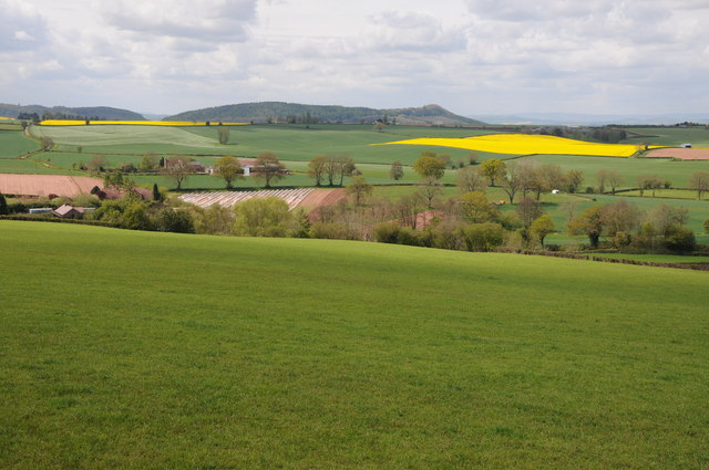 View to Penyard Hill