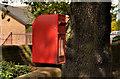 J0154 : Letter box, Portadown by Albert Bridge