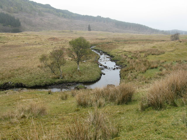 The River Lonan at Clachadubh