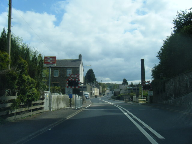 Ffairfach level crossing