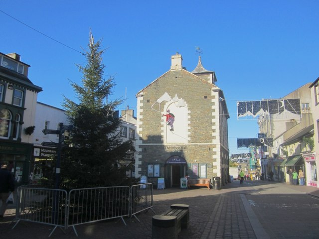 Christmas decorations in Keswick