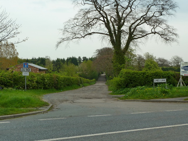 Limes Lane off the A49