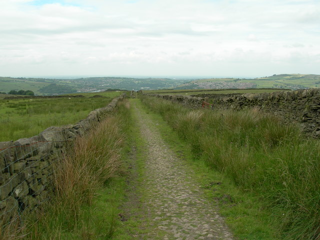 View West Down the Track