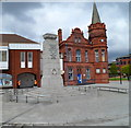 SO9889 : Oldbury War Memorial by John Grayson