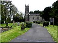 H4515 : Killoughter Parish Church of Ireland by Kenneth  Allen