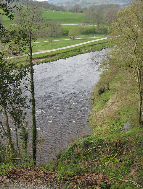 River Wharfe from a high perch