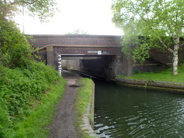 North side of Brades Hall Bridge