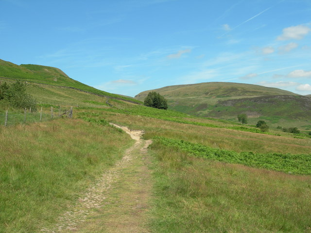 Pennine  Way Above Crowden