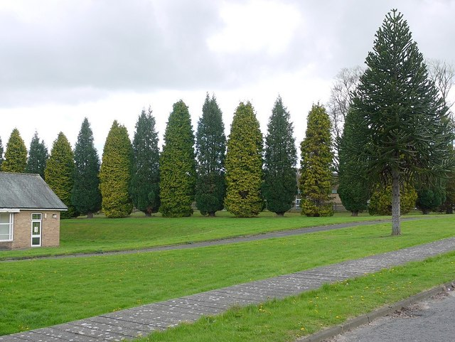 Prudhoe Hospital grounds