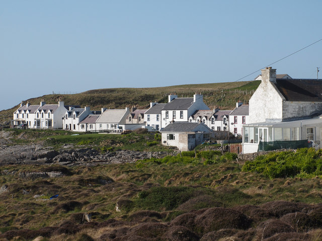 Cottages on Queen Street, Portnahaven