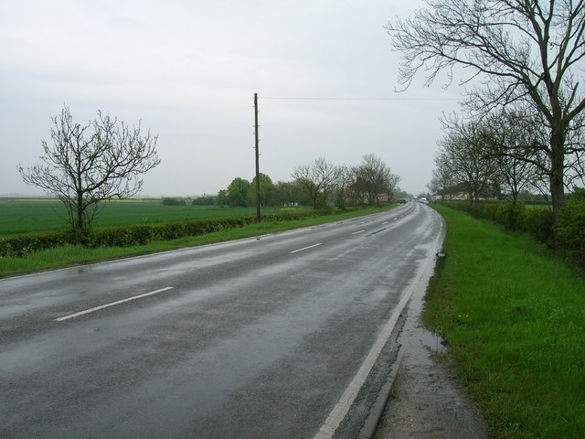 Doddington Road towards Chatteris