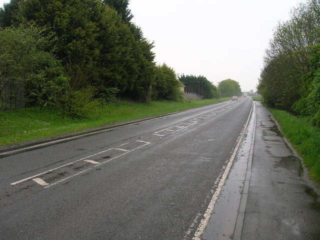 A141 heading south, Chatteris