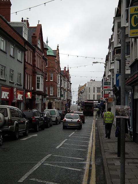 Terrace Road, Aberystwyth