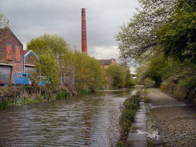 Manchester, Bolton and Bury Canal in Radcliffe
