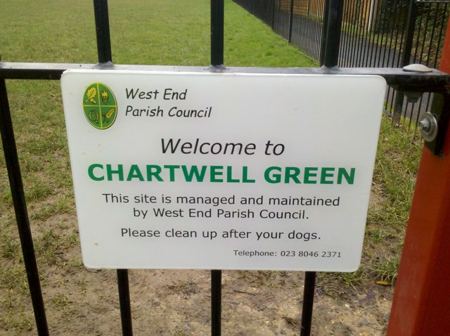 Chartwell Green sign