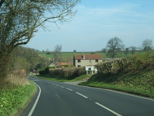 The entrance to Copper Beech Farm