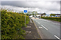 SD6308 : The traffic light junction at Cooper Turning on  the A6 by Ian Greig