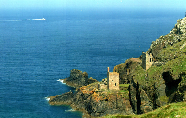 Botallack Mines, The Picture Everyone Takes, and You Can See Why
