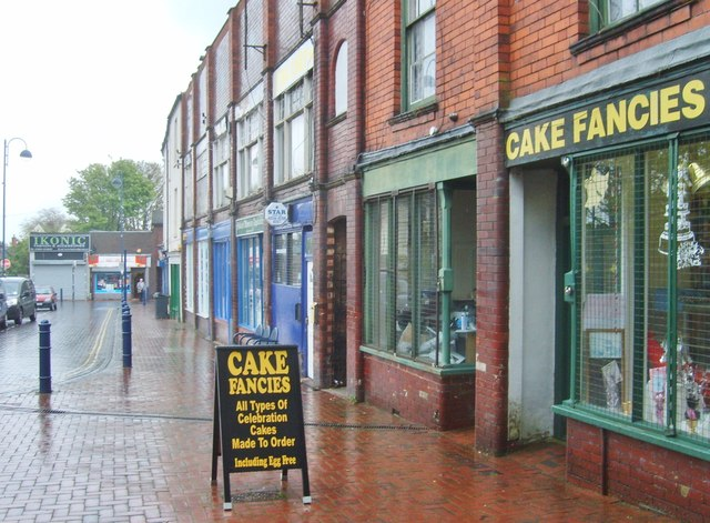 Cake Shops In Wolverhampton Town Centre