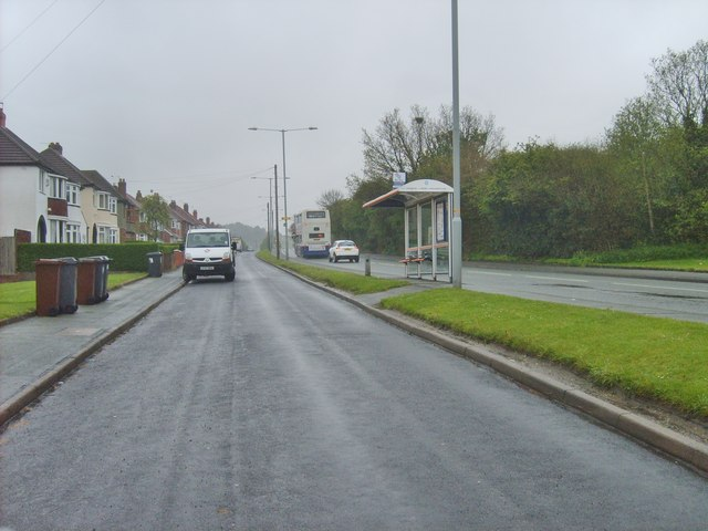 Wolverhampton Road East Bus Stop