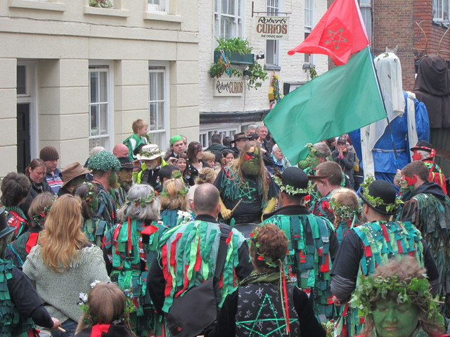 Jack in the Green festival, High Street