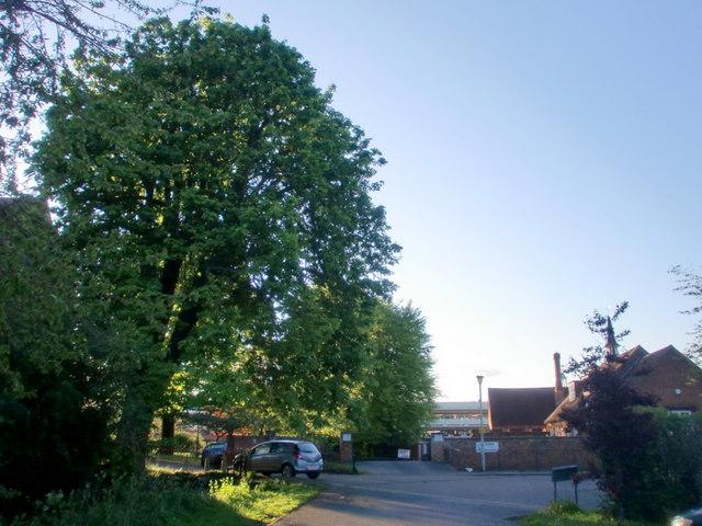 Entrance to Car Park, All Saints' Church Hall, Hertford
