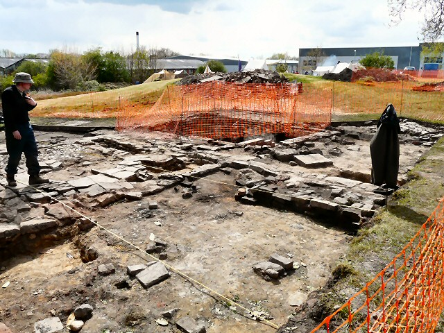 Newton Hall Excavations 2012