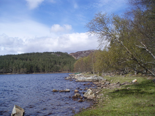 Loch Knockie East Shore (Dell estate)