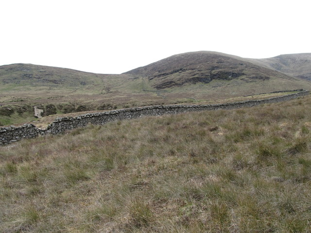 Rough tussocky, pasture west of the Spinkwee Valley