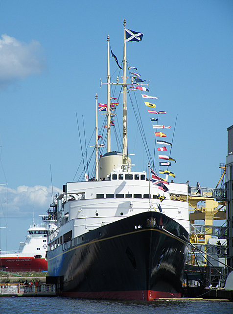 "Royal Yacht ""Britannia"""